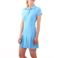 Платье-поло, светло-голубой